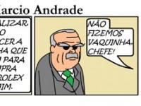 Quadrinho de Marcio Andrade