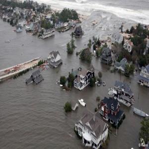 Alagamentos causados pelo Sandy