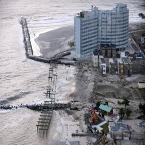 Atlantic City devastada pelo furacão sandy