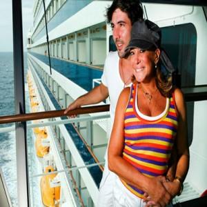 Suzana Vieira e noivo Sandro Pedroso