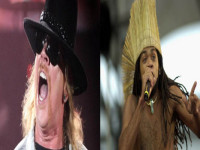 Axl Rose e Carlinhos Brow
