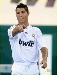 Jogadores mais bem pagos: Cristiano Ronaldo