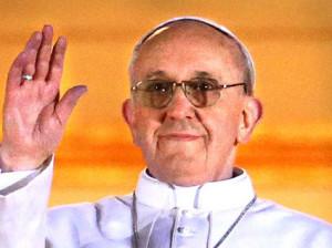 Namorada papa francisco
