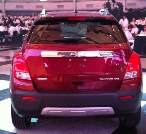 Chevrolet Tracker 2013.1