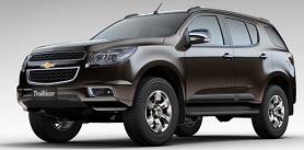 Chevrolet Trailblazer 2014, Preço, Ficha Técnica