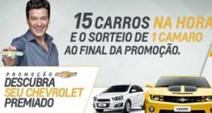 Promocao Descubra Seu Chevrolet Premiado