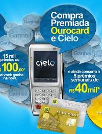 Compra Premiada Ourocard e Cielo Ganhadores 2013
