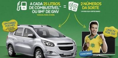 Promoção Posto Extra Da Carro Da TV