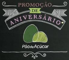 Promoção Aniversário Pão de Açúcar 2013
