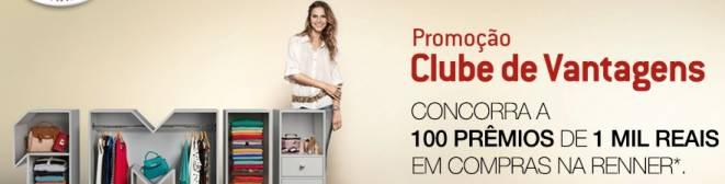 Promocao Clube de Vantagens Renner
