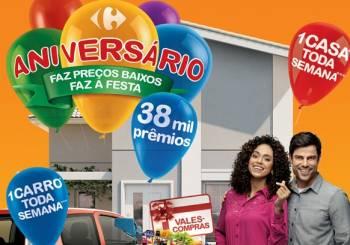 www.aniversariocarrefour.com.br, Promoção Aniversário Carrefour 2013