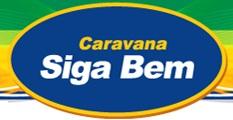 www.caravanasigabem.com.br, Promoção Caravana Siga Bem 2013
