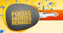 www.renault.com.br/portasabertas, Promoção Portas Abertas Renault