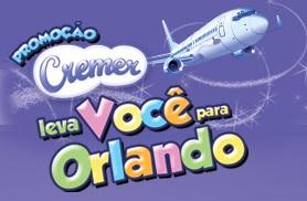 www.cremerlevavoceparaorlando.com.br, Promoção Cremer Leva Você Pra Orlando