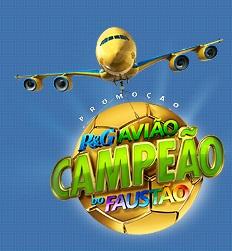 www.pgaviaocampeao.com.br, Promoção Avião Campeão do Faustão P&G