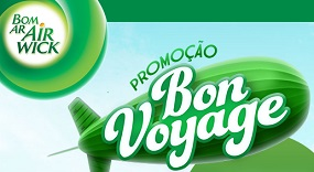 www.promocaobonvoyage.com.br, Promoção Bon Voyage Air Wick