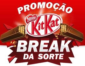 www.kitkat.com.br, Promoção Kit Kat Break da Sorte