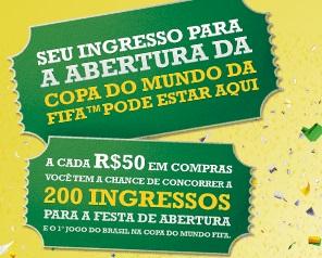 www.centauro.com.br/promocaoingressos, Promoção Centauro Ingressos para Copa