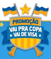www.visa.com.br/vaidevisa, Promoção Vai Pra Copa Vai de Visa