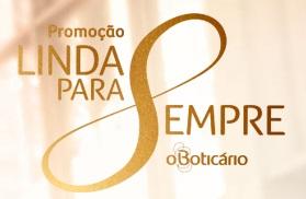 www.boticario.com.br/lindaparasempre, Promoção Linda Para Sempre O Boticário