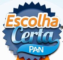 www.escolhacertapan.com.br, Promoção escolha certa Pan