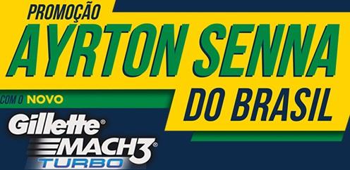 www.gillettesenna.com.br, Promoção Ayrton Senna do Brasil