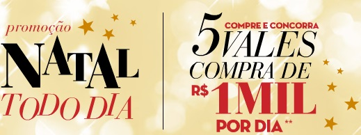 www.natal.pernambucanas.com.br, Promoção Natal Todo Dia Pernambucanas