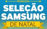 www.promocaoselecaosamsung.com.br, Promoção Seleção Samsung de Natal
