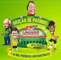 www.guaranaantarctica.com.br/selecaodepremios, Promoção Guaraná Antarctica Seleção De Prêmios
