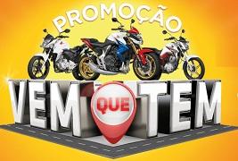 www.honda.com.br/vemquetem, Promoção Vem que tem Honda