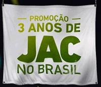 www.jacmotorsbrasil.com.br/3anosdejac, Promoção 3 Anos de JAC no Brasil