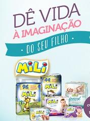 www.amilifaz.com.br, Promoção Mili, Dê vida à Imaginação do Seu Filho