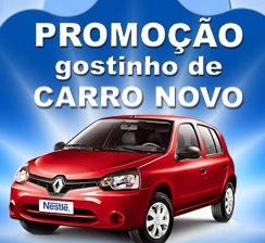 www.gostinhodecarronovo.com.br, Promoção Iogurtes Nestlé Gostinho de Carro Novo