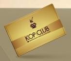 www.kopclub.com.br, Cartão Fidelidade Kopenhagen