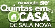www.promocaoskyquintasemcasa.com.br, Promoção Sky Sala Nova