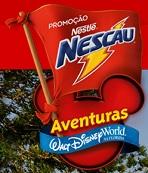 www.promonescau.com.br, Promoção Nescau Aventuras Walt Disney World