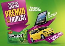www.temumpremionomeutrident.com.br, Promoção Tem Prêmio no Meu Trident