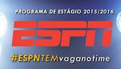 Estágio ESPN 2015