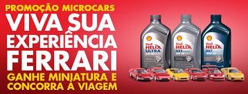 Promoção Shell Microcars
