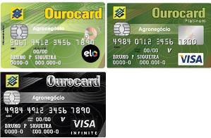 Cartão OuroCard Agronegócios
