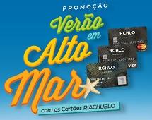 www.veraoemaltomar.com.br, Promoção Verão em Alto Mar com os Cartões Riachuelo