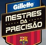 www.precisaogillette.com.br, Promoção Desafio Gillette Mestres da Precisão