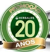 www.promocaoherbalife20anos.com.br, Promoção Herbalife 20 Anos