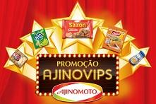 www.ajinovips.com.br, Promoção Ajinovips Ajinomoto