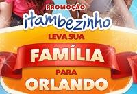 www.itambe.com.br/orlando, Promoção Itambé - Orlando Disney